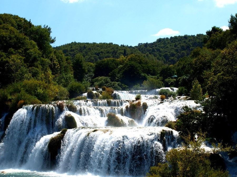 Chorvátsko - národný park Krka