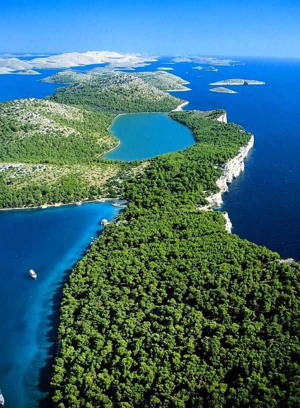 Chorvátsko - prírodný park Telašćica